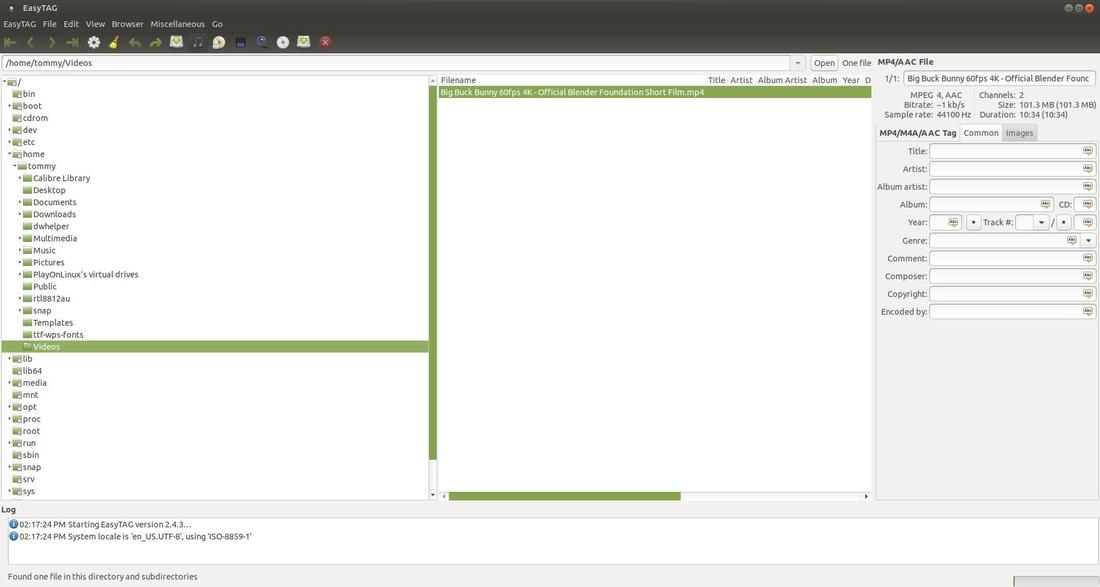 EasyTag - Learn Ubuntu MATE
