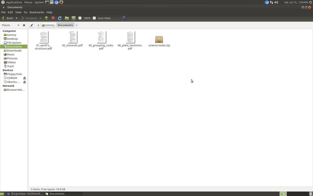 Archive Manager - Learn Ubuntu MATE