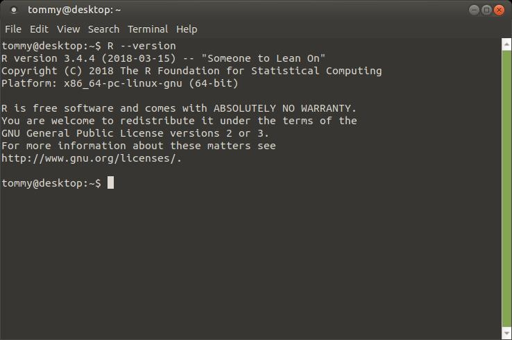 How To Install R - Learn Ubuntu MATE